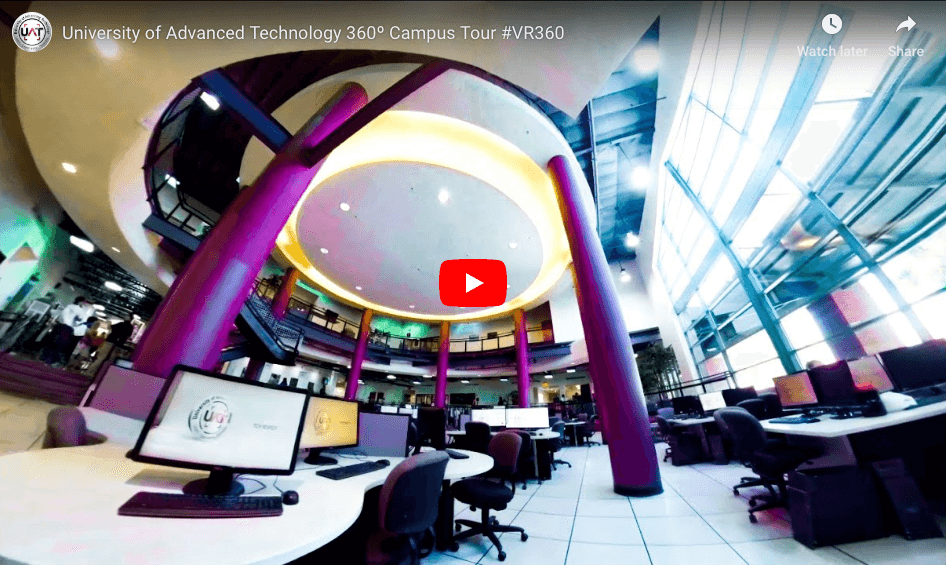 View the 360 Virtual Campus Tour