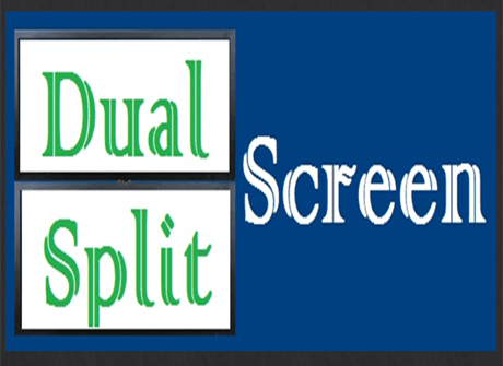 Dual Split Screen  | Game Studies