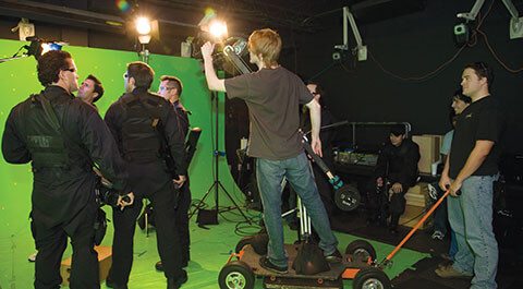 Motion Capture and Composite Studio
