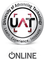 UAT online military friendly logo