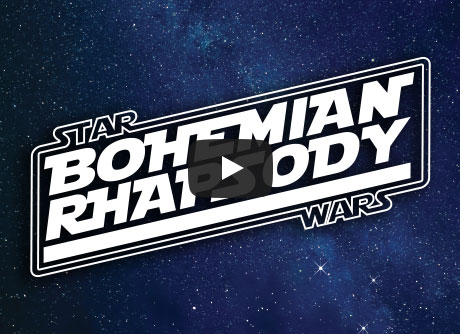 Bohemian Rhapsody: Starwars Edition  | Digital Arts